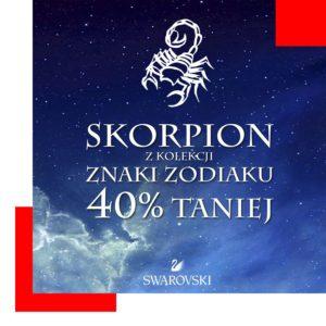 Promocja znak zodiaku Skorpion
