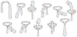 Wiązanie krawata | Węzeł Windsor