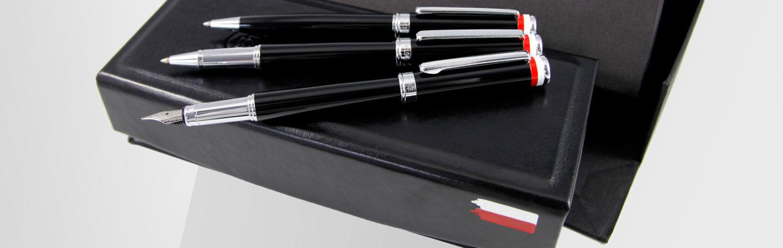 Pióro wieczne, pióro kulkowe i długopis